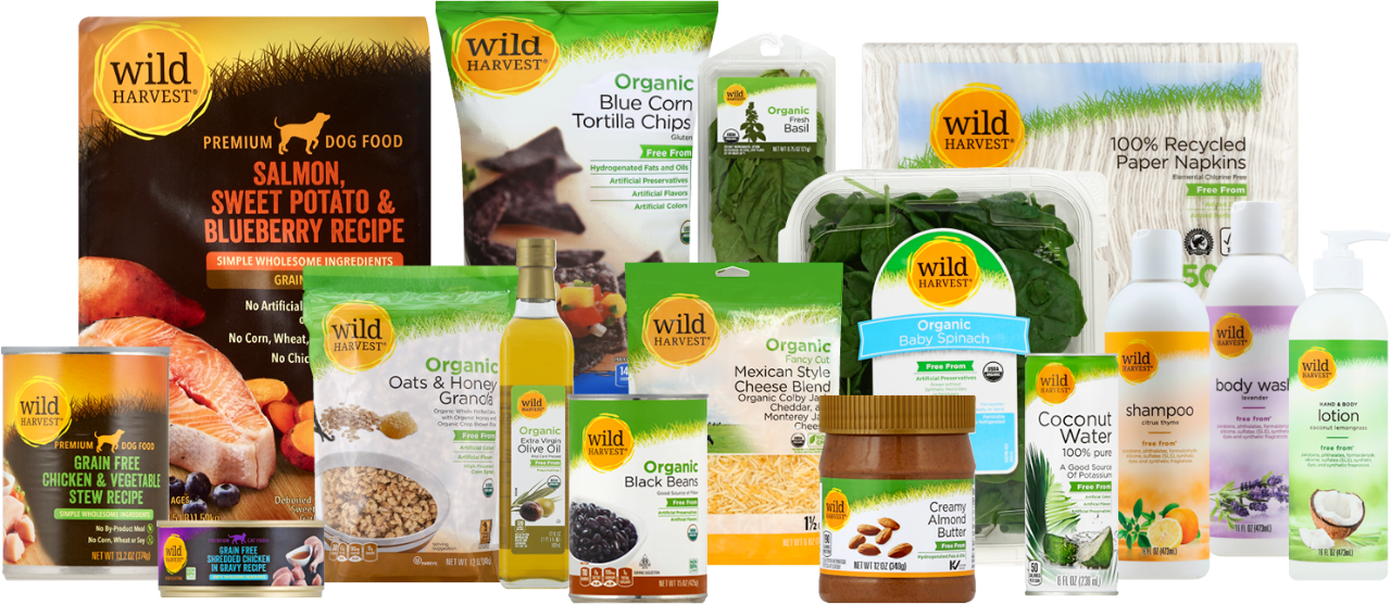 wild harvest products